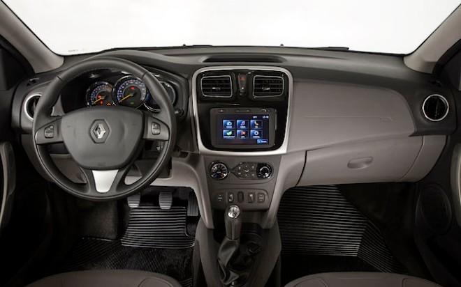 Novo Renault Logan. Curitiba, 06/10/2013. Foto: Agência La Imagem