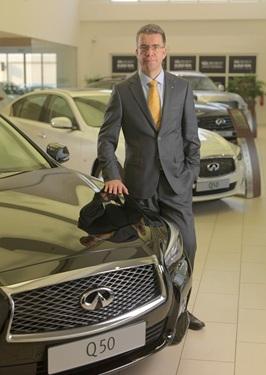 Juergen Schmitz, director general de Infiniti para el Medio Oriente.